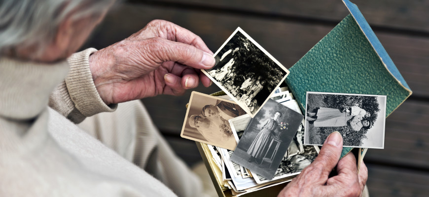 Erinnerung an damals