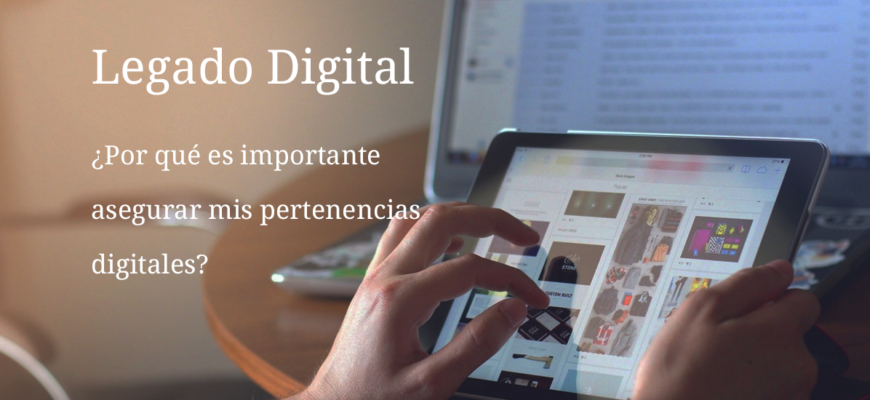 asegurar pertenencias digitales