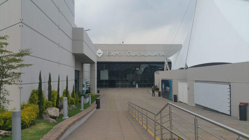 Entrada a Expo Guadalajara