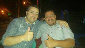 Carlos y Alejandro En la cena de empresarios