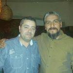 Carlos y Ángel en la cena de empresarios