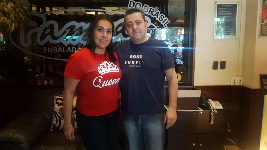 Rose y Carlos