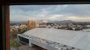 Vistas de la Expo desde el hotel