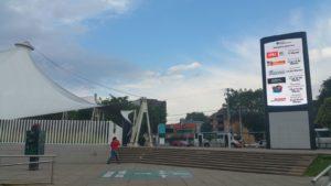 Entrada a la expo